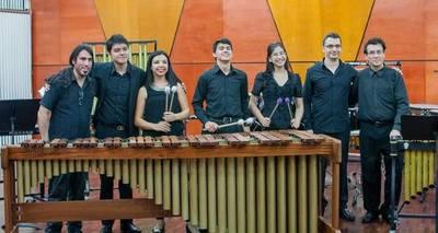 OSN ofrece gran concierto de percusión con alumnos de la FADA-UNA