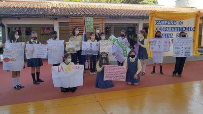"""Con el lema """"Jaitýke Sevo´i"""" inician campaña de desparasitación en Alto Paraná"""