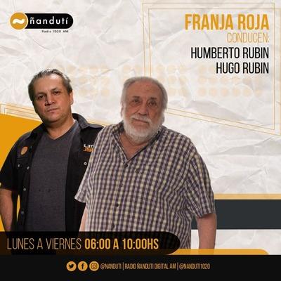 Franja Roja con Humberto y Hugo Rubin