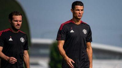 Cristiano Ronaldo se entrena por primera vez con el United