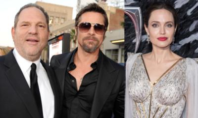 Angelina Jolie reveló detalles de su pelea con Brad Pitt por haber trabajado con Harvey Weinstein