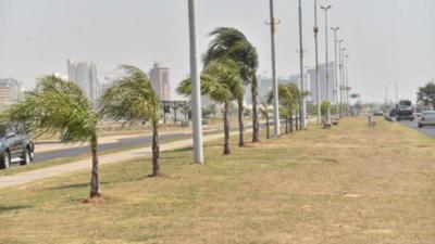 Varias ciudades con cortes de electricidad a causa de fuertes vientos