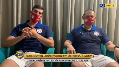 Giménez y Espínola, con sensaciones positivas para el debut
