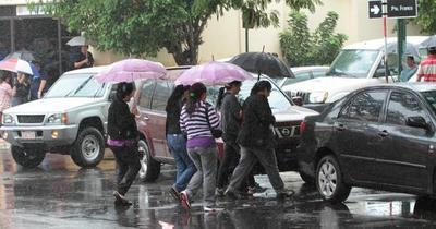 Meteorología anuncia lluvias intensas desde esta noche