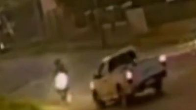 Policía Nacional busca a chofer que chocó a una pareja