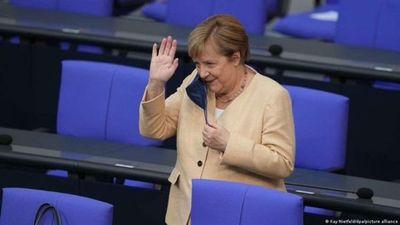 Angela Merkel se despide del Parlamento alemán