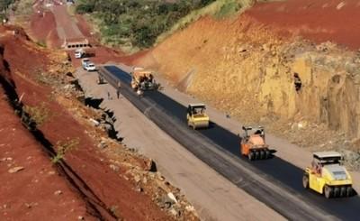 Corredor de la Exportación ya cuenta con 104 kilómetros de asfalto