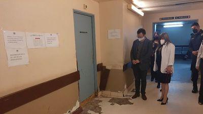 Embajada francesa proyecta  apoyar    mejoras en  hospital