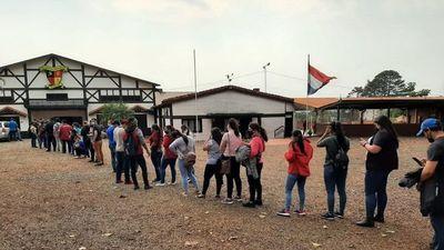 Vacunas resultaron insuficientes para jóvenes de Obligado, Itapúa