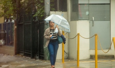 Pronostican jornada lluviosa y fresca