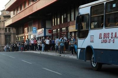 Buses de Asunción cobran G. 2.300 nuevamente