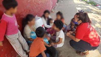 Más de 740 niños, niñas y adolescentes en situación calle fueron asistidos en agosto
