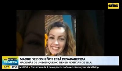 Buscan a madre que está desaparecida hace más de un mes