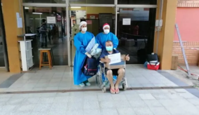 Hospital de Clínicas dio de alta a su último paciente COVID