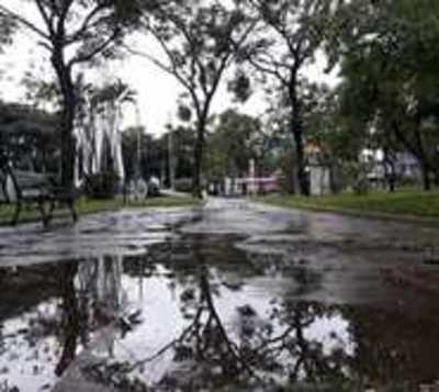 Lluvia riega Asunción y parte del Chaco