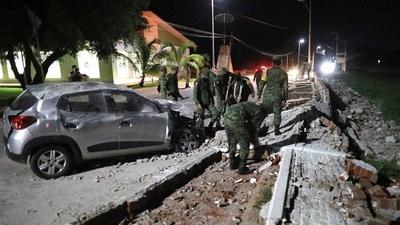 Pánico en México tras terremoto de magnitud 7.1