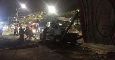 La Nación / Paciente falleció tras accidente de la ambulancia que lo trasladaba de Villarrica a Asunción