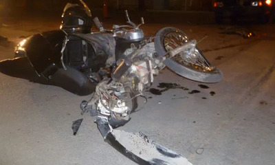 Joven motociclista falleció en un accidente de tránsito en Caaguazú