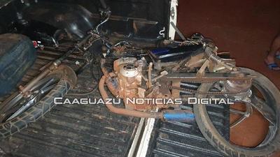 Caaguazú; Motociclista perdió la vida en accidente de tránsito – Prensa 5