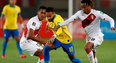 Brasil recibe a Perú