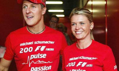 La esposa de Michael Schumacher dio detalles sobre el estado de salud del ex piloto