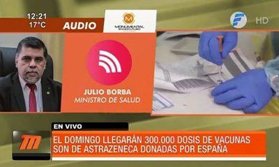 Paraguay recibirá 300.000 dosis de AstraZeneca el próximo domingo