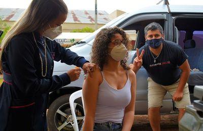 Tras vacunación irregular, liberan terminación de cédula en Villarrica