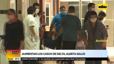 Aumentan los casos de delta, alertan desde Salud