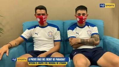 Pascottini y Rejala disfrutan la previa del Mundial en Lituania