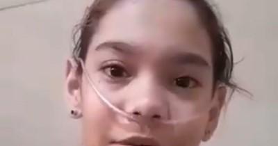La Nación / A un año de la promesa incumplida, niña vuelve a suplicar por medicamento a autoridades