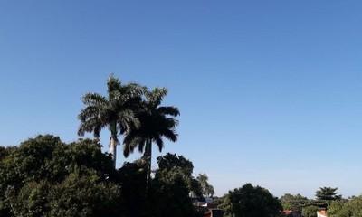 Jueves fresco a cálido en Coronel Oviedo