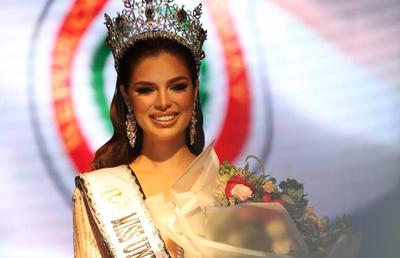 "Declaran de interés cultural participación de Nadia Ferreira en ""Miss Universo"""
