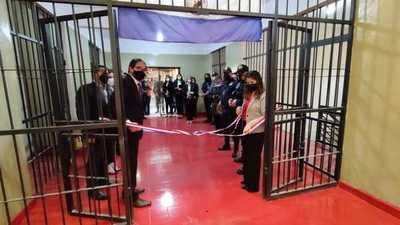 Rehabilitado pabellón en el Penal de Concepción