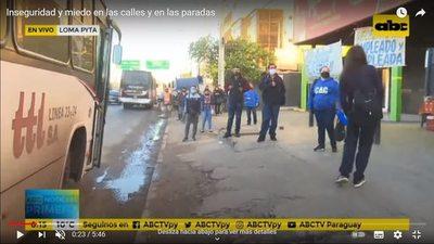 Ciudadanos enfrentan la calle con temor real a la inseguridad y descrédito a la Policía