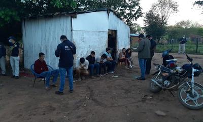 """Tras allanamientos detienen a hombre en """"barrio Chino"""" de Coronel Oviedo"""