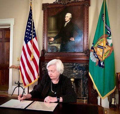 Yellen advierte que EEUU podría entrar pronto en suspensión de pagos de deuda