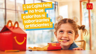 McDonald's: La Cajita Feliz ahora es 100% natural