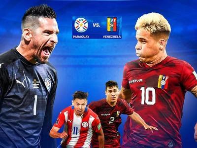 Paraguay debe ganarle a Venezuela para seguir soñando con un lugar en el Mundial