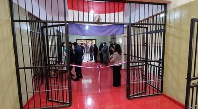 Habilitan pabellón para 120 internos en la cárcel de Concepción