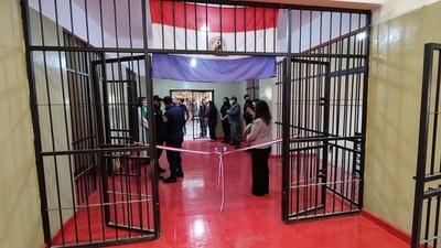 Habilitan pabellon para albergar a 120 internos en penal de Concepción
