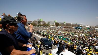 Bolsonaro asegura que nunca tuvo «intención de agredir» a los Poderes de Brasil