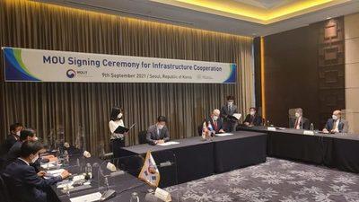 Tren de cercanías: Paraguay y Corea firman memorándum de entendimiento para el proyecto