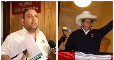 """La Nación / """"¿Qué se cocina en Palacio?"""", preguntan medios peruanos tras visita de Alberto Grillón a Pedro Castillo"""