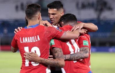 Final del primer tiempo: Paraguay derrota 1-0 a Venezuela
