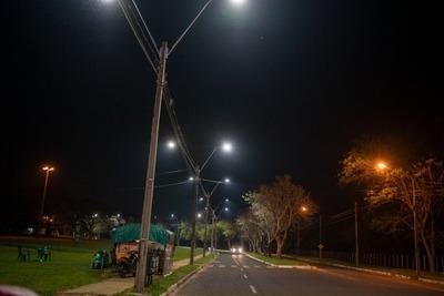 Introducen mejoras en el sistema de iluminación de las áreas públicas de Ayolas