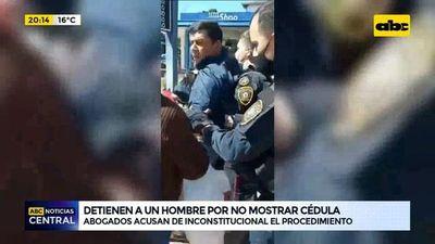 ¿Puede la Policía aprehender a quienes no porten cédula?