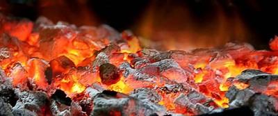 Hombre cayó encima de brasas de fuego y sufrió graves quemaduras