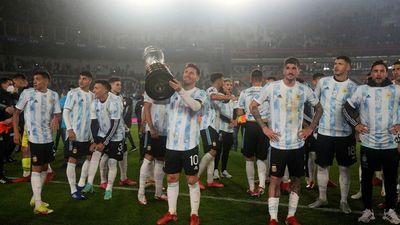 """Messi rompe en llanto: """"Hace mucho que soñaba con esto"""""""