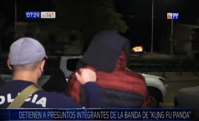 Detienen a sospechosos de formar parte de banda de Kung Fu Panda