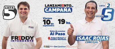 Isaac Rojas apunta a ocupar una banca en la Junta Municipal y hoy lanza candidatura